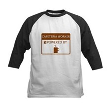 Cafeteria Worker Powered by Coffee Tee