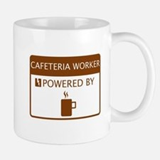 Cafeteria Worker Powered by Coffee Mug