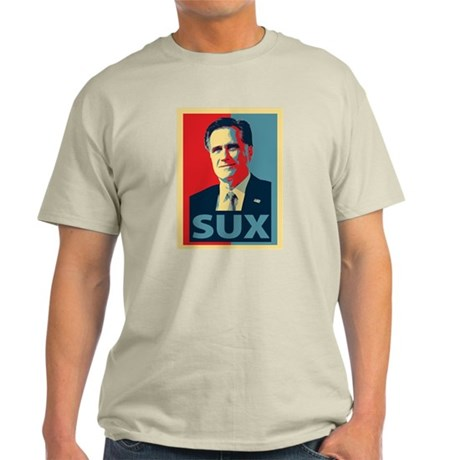 Mitt Romney Sux Light T-Shirt