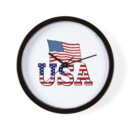 Team USA Wall Clock