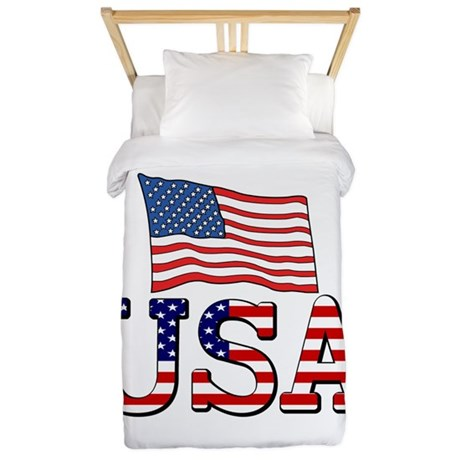 Team USA Twin Duvet