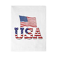 Team USA Twin Duvet