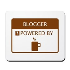 Blogger Powered by Coffee Mousepad