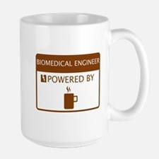 Biomedical Engineer Powered by Coffee Large Mug