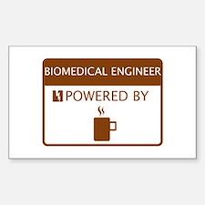 Biomedical Engineer Powered by Coffee Decal