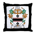 O'Coonan Coat of Arms Throw Pillow