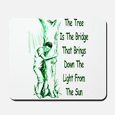 Tree Bridge Mousepad