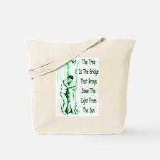 Tree Bridge Tote Bag