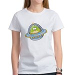 Space Alien Penguin Women's T-Shirt