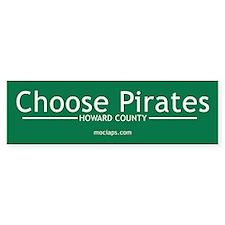 Choose Pirates Bumper Sticker