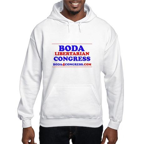 BODAback.jpg Hooded Sweatshirt
