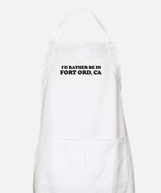 Rather: FORT ORD BBQ Apron
