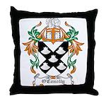 O'Conolly Coat of Arms Throw Pillow
