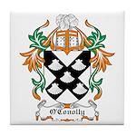 O'Conolly Coat of Arms Tile Coaster