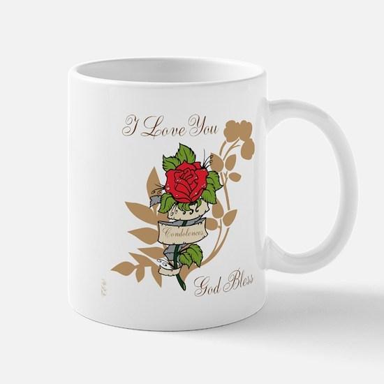 TheEulogyWeb: I Love You design #11 Mug