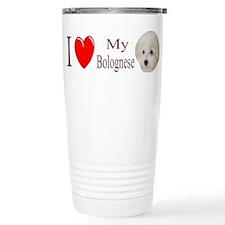 I Love My Bolognese 2 Travel Mug