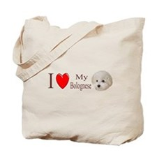 I Love My Bolognese 2 Tote Bag