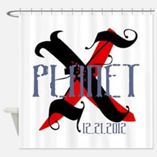 Planet X 12.21.2012 Shower Curtain