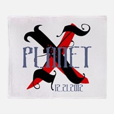 Planet X 12.21.2012 Throw Blanket
