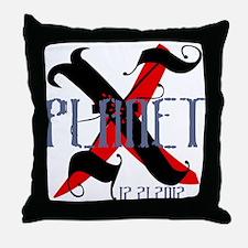Planet X 12.21.2012 Throw Pillow