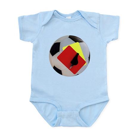 Football- cards-whistle Infant Bodysuit