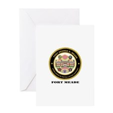 Fort Meade with Text Greeting Card