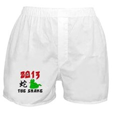 Cute Year of The Snake 2013 Boxer Shorts