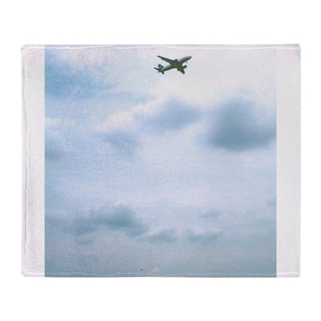 I Love To Fly My Planes. Throw Blanket