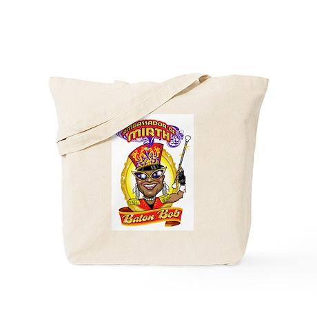 Atlanta's Most FAMOUS Performer Baton Bob Tote Bag