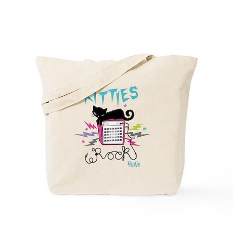 Kitties Rock Tote Bag