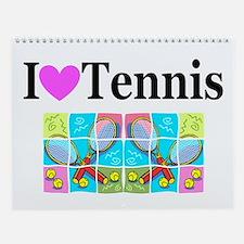 TENNIS Wall Calendar