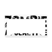 Zombie Apocalypse License Plate Holder
