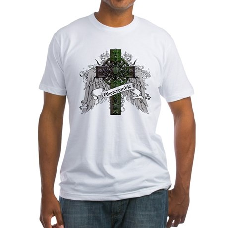 Abercrombie Tartan Cross Fitted T-Shirt