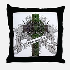 Abercrombie Tartan Cross Throw Pillow