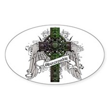 Abercrombie Tartan Cross Decal