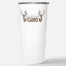 REAL GIRLS WEAR CAMO Travel Mug