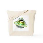 Space Penguin Tote Bag