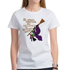 Funny Witch Flying Tee