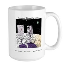 When You Get Lost Between The Moon Newark Mug