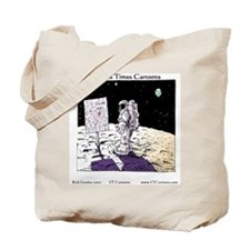 When You Get Lost Between The Moon Newark Tote Bag
