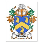 O'Condron Coat of Arms Small Poster
