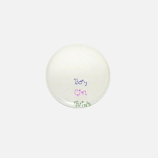 Coming Soon Baby Girl Mini Button