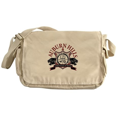 AHCS Logo Messenger Bag