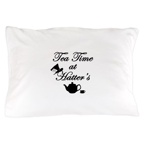Tea Time at Hatters Pillow Case