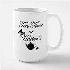 Tea Time at Hatters Ceramic Mugs