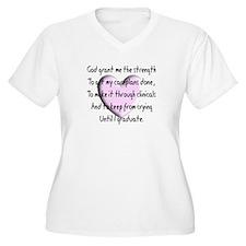 Nursing Student Plus Size T-Shirt