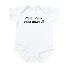 Chihuahua FOOD SLAVE Infant Bodysuit