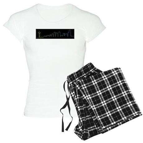 Seattle Skyline Women's Light Pajamas
