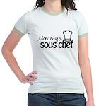 Mommy's Sous Chef Jr. Ringer T-Shirt