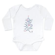 Cute Plow Long Sleeve Infant Bodysuit